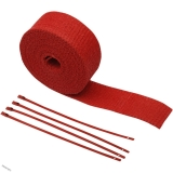 "Kit omotávky výfuku RED WRAP od Cycle Performance 2"" X 25"