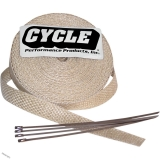 "Kit omotávky výfuku NATURAL WRAP od Cycle Performance 2"" X 25"""