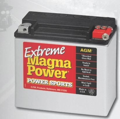 Baterie Magna power YTX14L Sportster 04-17